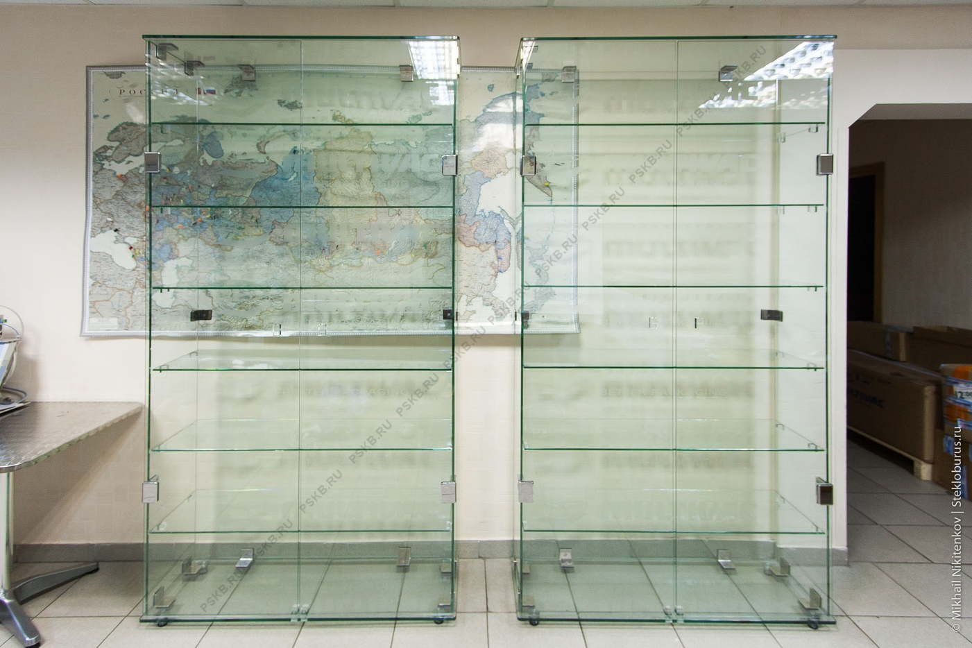 схема сборки алюминиевых стеклянных фасадов